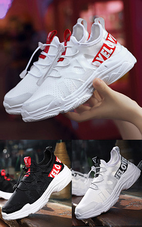 50% discount on early bird reservation <br> 3 Love Lettering Couples Sneakers
