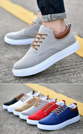 <b>[Early Bird Preview]</b> <br> Solid Canvas Shoes <br> Earlybird Booking 40%