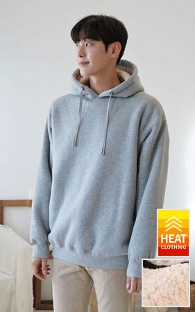 Good quality overfit Wool Hoodie