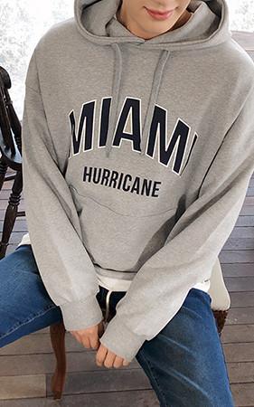Miami Lettering Hoodie