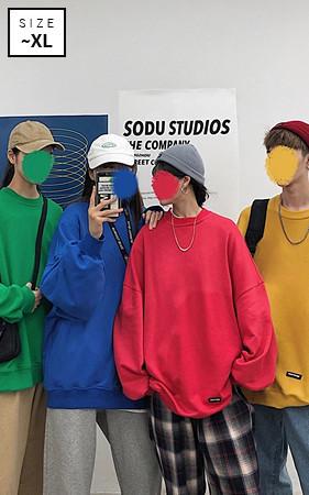 Labels Plain Couples overfit Sweatshirt